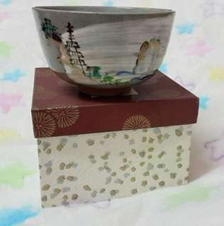 Japan handmade pottery clay  bowl