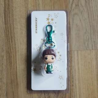Starbucks Female Staff Keychain