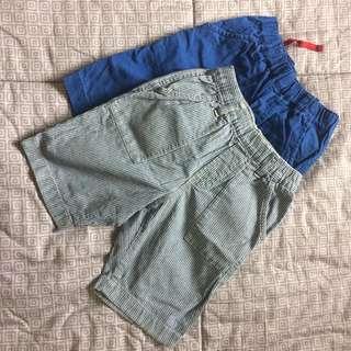 Uniqlo blues shorts