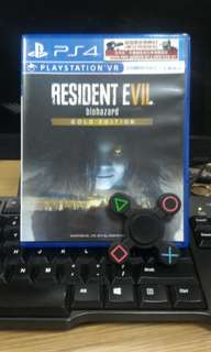 [PS 4] Resident Evil 7 - Gold Edition