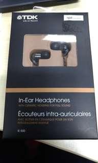 TDK IE 500 ceramic casing earphones