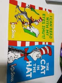 Dr Seuss story books (2 books)