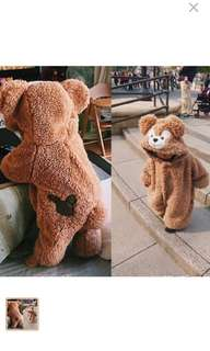 Obsem baby bear rompers