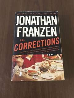 The Corrections by Jonathan Franzen (softbound)