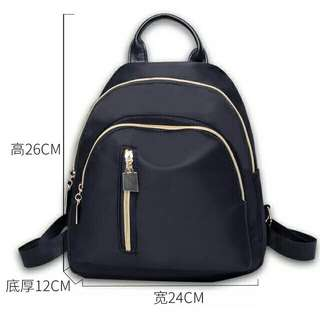 Korean Backpack Black