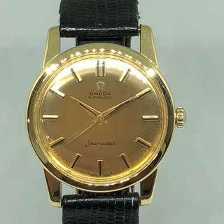 Omega Vintage Seamaster Gold