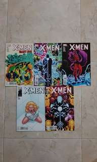 "X-Men Vol 3 (Marvel Comics 5 Issues, #12 to 15 plus Giant-size issue, complete story arc on ""First to Last"")"