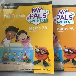 My Pals P2 mathematics Textbooks