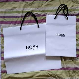 Paper bag Hugo Boss