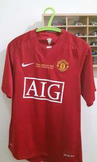 Manchester United Original Jersey 07/08 - Final Moscow