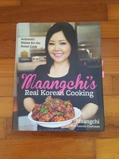 Korean cooking books