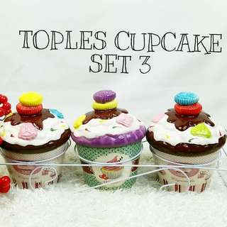 Toples cupcake 1set