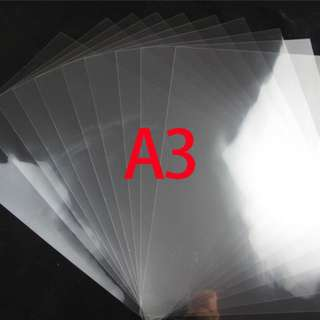 Inkjet Transparency Film Waterproof A3 High Quality 10pcs