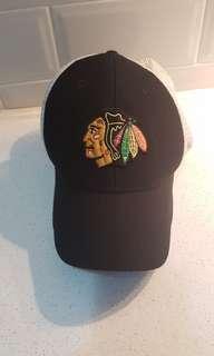 Black NHL Indians Hat