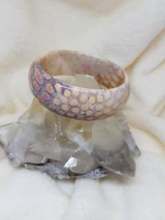 Coral Jade Bangle design 26