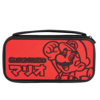Deluxe Console Case Mario Kana Ed Nintendo Switch