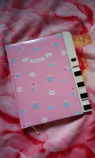 Preloved Notebook with Lock