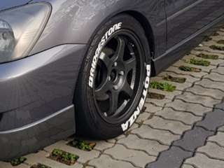 "16"" inch sports rim with RE-003 tyre. 4x114.3"