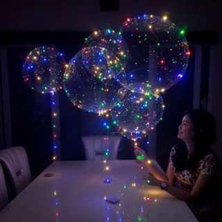 Balon lampu LED RGB SD