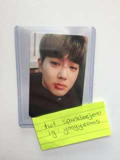 Exo Suho Lucky One EX'ACT Photocard