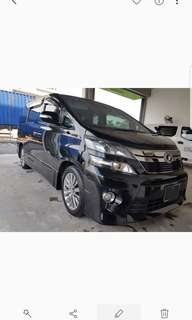 Toyota vellfire 2.4 golden eye
