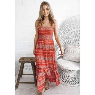 Tube Type Summer Dress