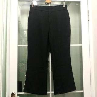 全新Shangyin女裝黑色時尚珍珠型格褲 Brand New Shangyin Women's Black Fashion Pearl-Style Pants