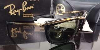 Kacamata raybab BL vintage wayfarer original NOS