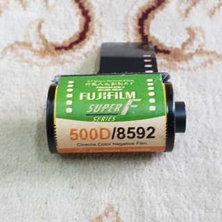 Fujifilm Reala Super F Series 500D Motion Picture Cinema Film Roll ( 8592 Production Series ) 35mm