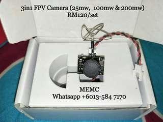 RC Plane Drone 3-in-1 800TVL Mini CMOS FPV Camera