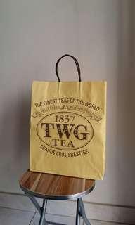 TWG paper bag (large)