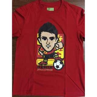 Football Soccer Spain David Villa jersey shirt S