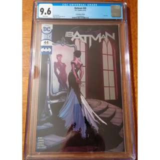 DC Comics Batman #44 Wedding CatWoman C2E2 Convention Exclusive Silver Foil Cover CGC 9.6 White Pages
