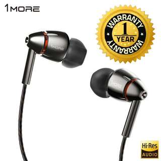 (WEEKEND PROMO) 1MORE Quad Driver In-Ear Earphone (18 MONTHS WARRANTY)
