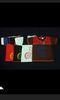 Sale! Kaos Anak 3-5 Tahun