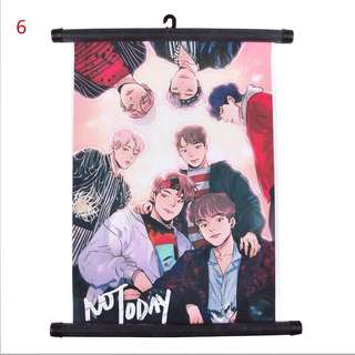 Kpop cloth poster