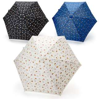 Japan Sanrio Hello Kitty Rain and Shine Folding Umbrella (Milk)