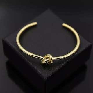 Celine Gold Knot Bracelet