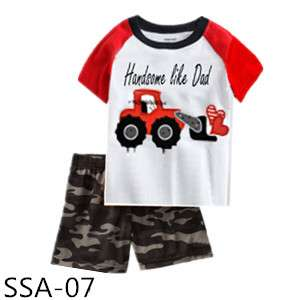Boy T-shirt set handsome like Daddy