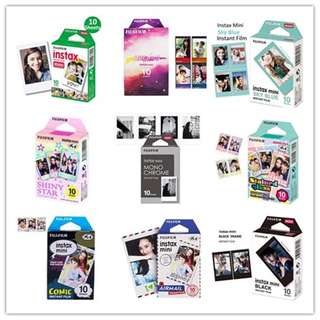 Fujifilm Instax Mini Polaroid Films