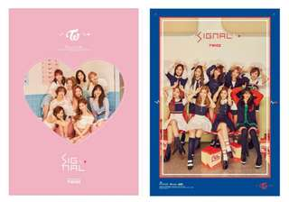 TWICE Signal Posters