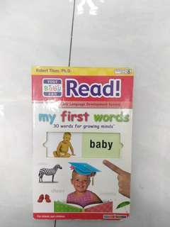 You baby can read