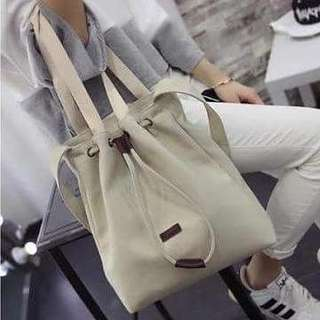 2-Way Weekend Canvas Tote