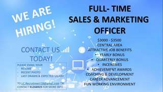 Seeking for jobs ?