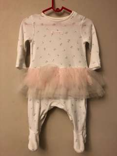 Mothercare Baby Girl Tutu Rompers