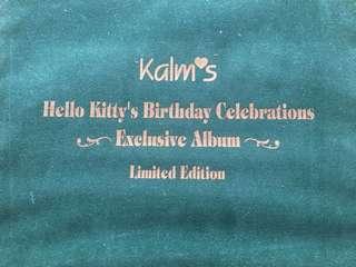 Hello kitty card set