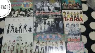Official albums