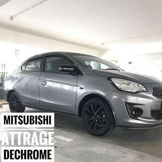 Mitsubishi Attrage Plastidip Plasti Dip