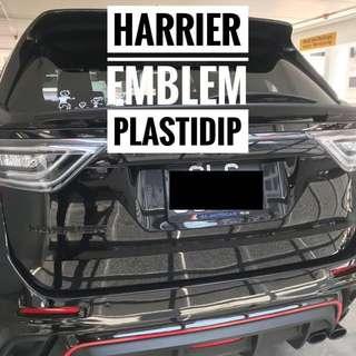 Toyota Harrier Emblem Plastidip Plasti Dip