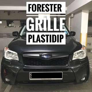 Subaru Forester Grille Foglamp Plastidip Plasti Dip